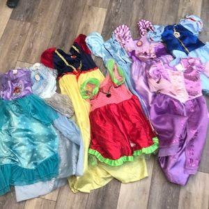 Other - Fantasy Play wear Dress Up Disney + sz 4-6x
